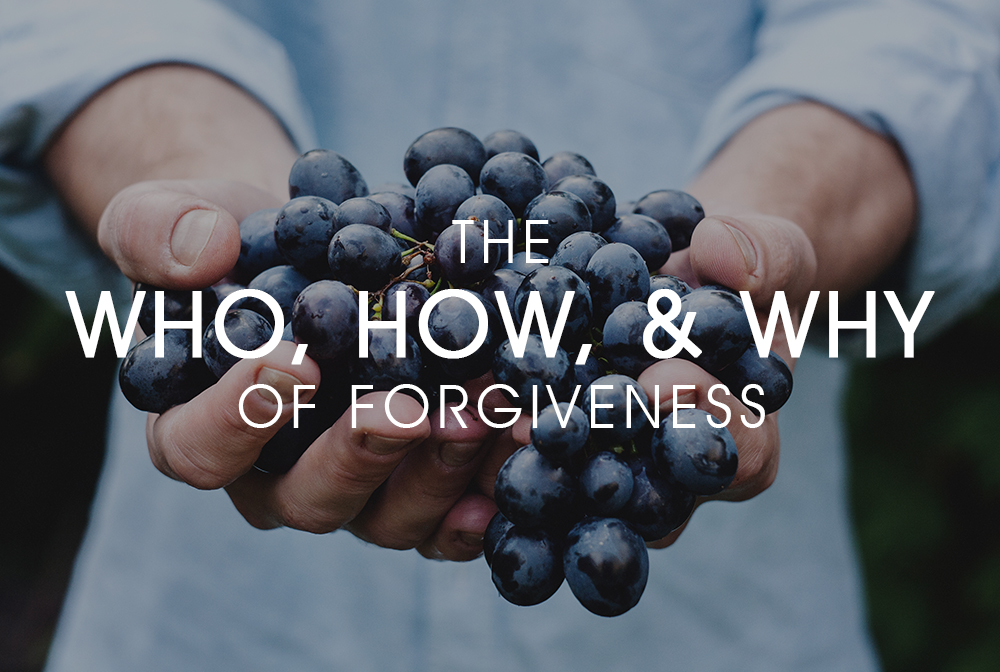 The Who, How, and Why of Forgiveness